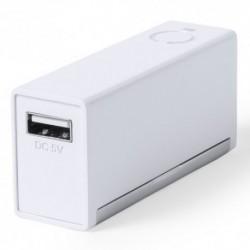Batería auxiliar externa de 2.200 mAh con soporte para móvil
