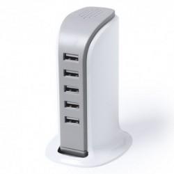 Cargador con 5 salidas USB