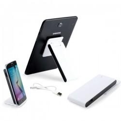 Batería externa con soporte para móvil