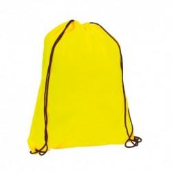 Mochila de cuerdas amarillo fluorescente