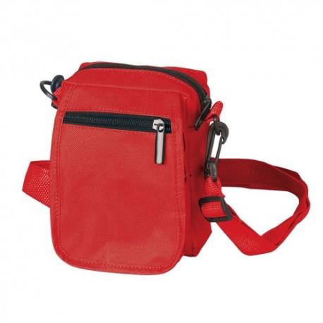Mini bolso bandolera rojo