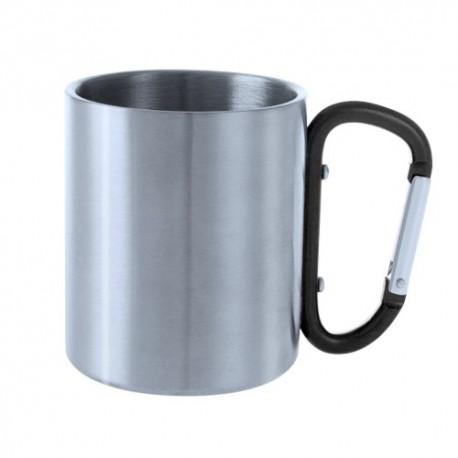 Taza 200 ml con mosquetón