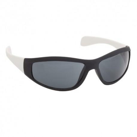 Gafas de sol diseño deportivo. Color blanco