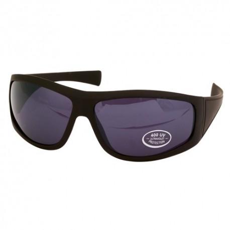 Gafas de sol deportivas de color negro