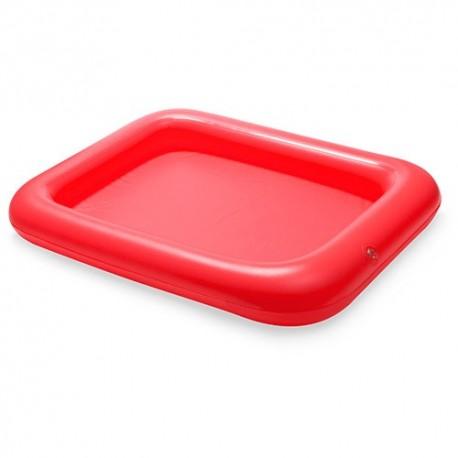 Mesa hinchable para piscina