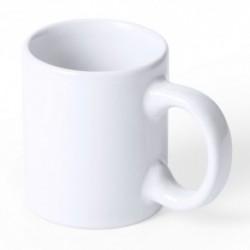 Taza en cerámica blanca de 80 ml. de capacidad