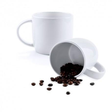 Original taza de cerámica en color blanco de 380 ml. de capacidad