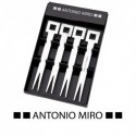 Set de 4 tenedores Antonio Miro