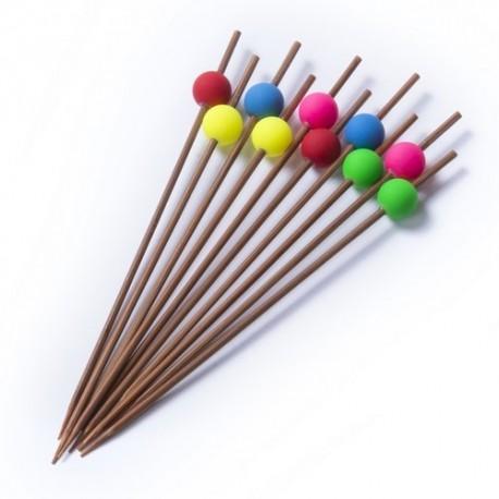 Set de 10 palillos de bambu