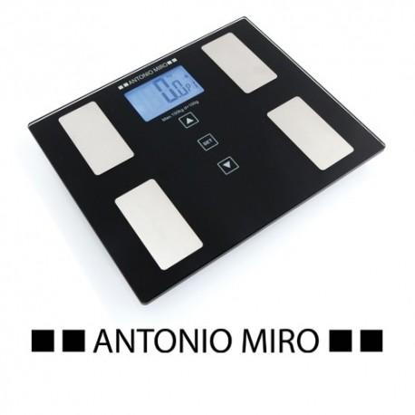 Báscula de baño bicolor de Antonio Miró