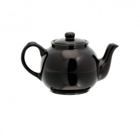 Tetera de cerámica de 400 ml. Color negro
