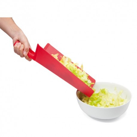 Tabla de cocina flexible y cuchillo