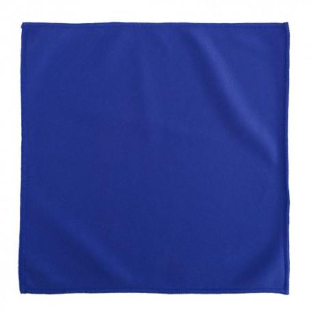 Paño limpiador de 30 x 30 cm. de color azul