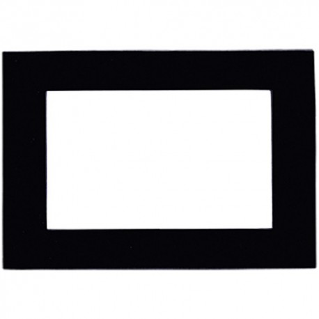 Original marco de fotos magnético negro