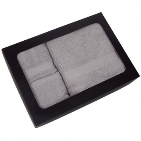 Set de 3 toallas de algodón 100%