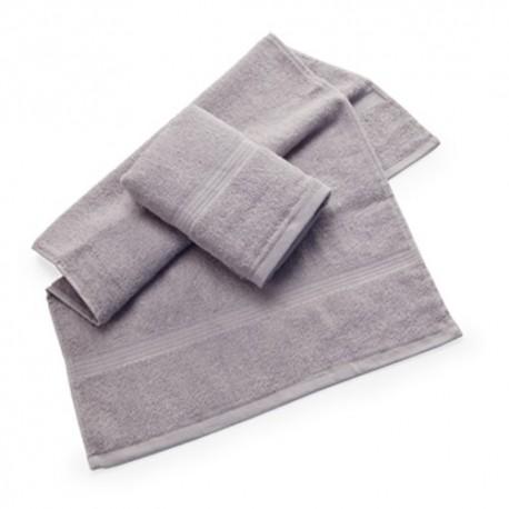 Set de dos toallas de algodón 100%. Dos toallas de 40 x 70 cm.