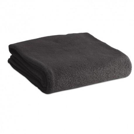 Elegante manta polar de 120 x 150 cm. Color negro