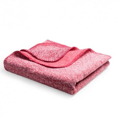 Manta polar de alta calidad de 130 x 160 cm. color rojo