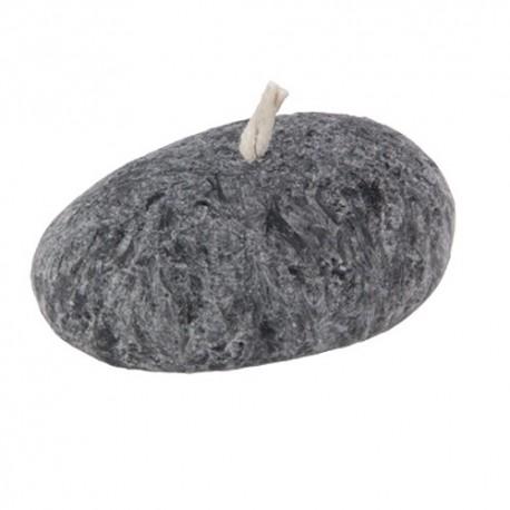 Vela para decoración simil piedra