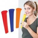 Molde para helado de silicona