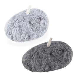 Vela para decoración simil piedra natural