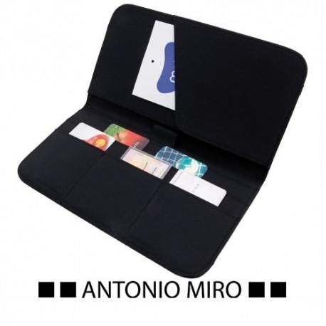 Portadocumentos de viaje Antonio Miro