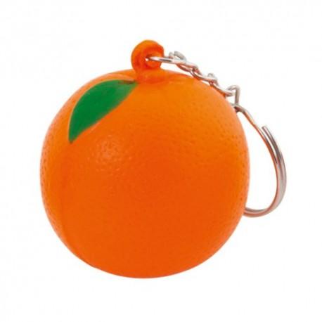 Llavero antiestrés diseño naranja