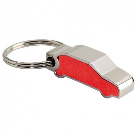 Llavero 3D, modelo coche color rojo