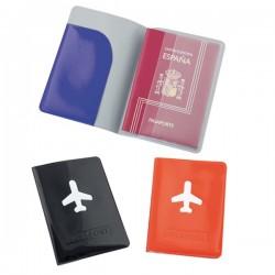 Funda para el pasaporte en Pvc