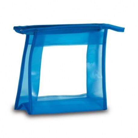 Neceser pvc con ventana transparente