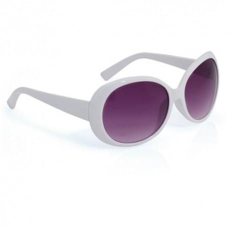 Gafas de sol de mujer. Color blanco