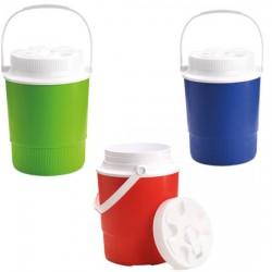Termo de plástico con una capacidad de 2 litros y tapa de rosca