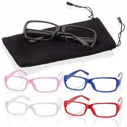 Montura de Gafas de plastico sin cristal para fiestas