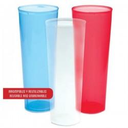 Vaso de plástico 300 ml translucido
