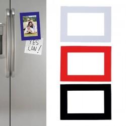 Original marco de fotos magnético con superficie brillante para el frigorífico