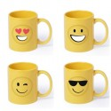 Taza cerámica emoji