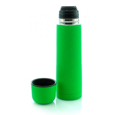 Termo de acero inoxidable de 500 ml. Color verde