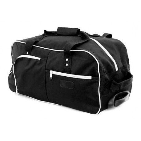 Bolso trolley con ruedas, color negro