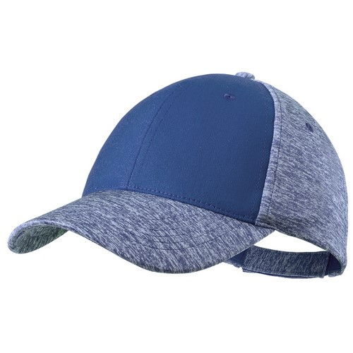 Gorra de poliéster colores azules
