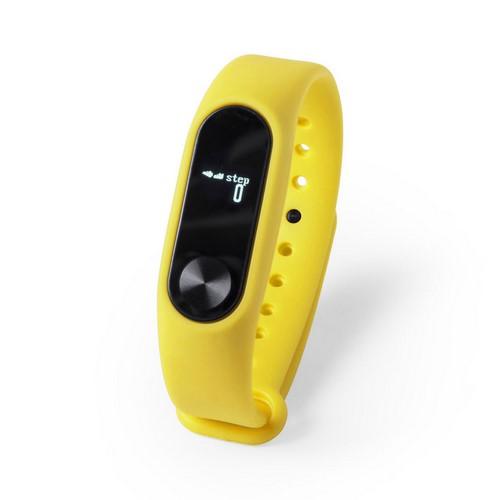 Reloj inteligente multifuncional, color amarillo