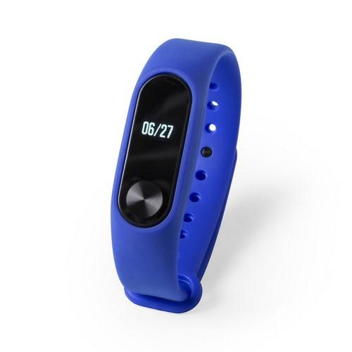 Reloj inteligente multifuncional, color azul