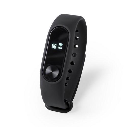 Reloj inteligente multifuncional, color negro