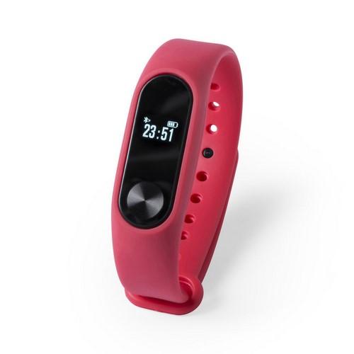 Reloj inteligente multifuncional, color rojo