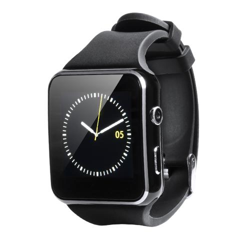 Reloj inteligente multifuncional con caja de acero inox.