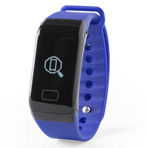 Reloj inteligente deportivo, color azul