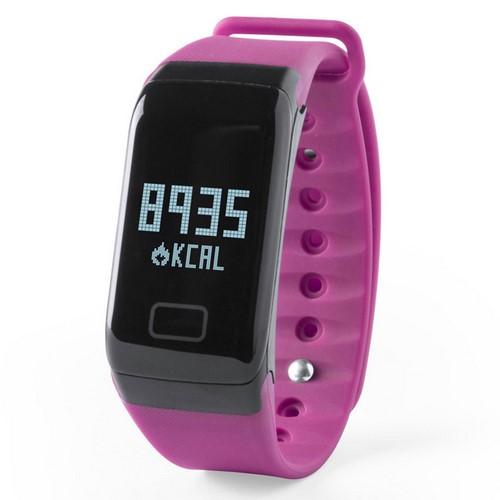 Reloj inteligente deportivo, color fucsia