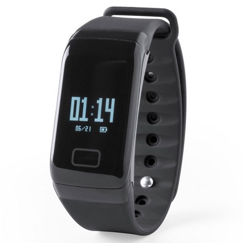 Reloj inteligente deportivo, color negro