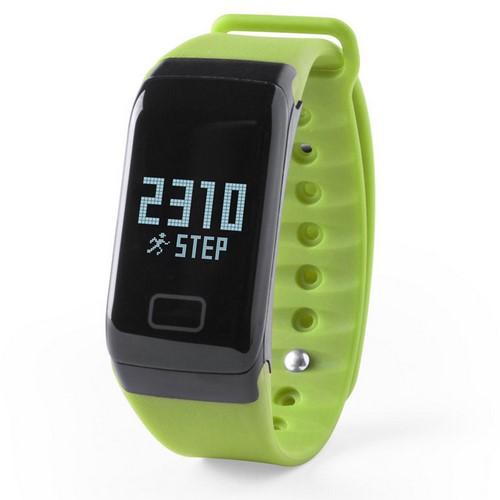 Reloj inteligente deportivo, color verde claro