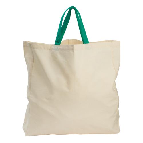 Bolsa 100% de algodón orgánico, en color natural